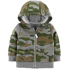 Baby Boy Carter's Camouflage Zip Cardigan