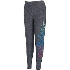 Girls 7-16 adidas Space Dyed Melange Jogger Leggings