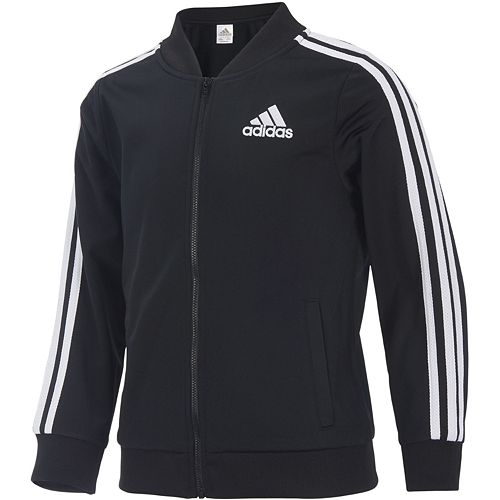 Girls 7 16 Adidas Tricot Bomber Jacket