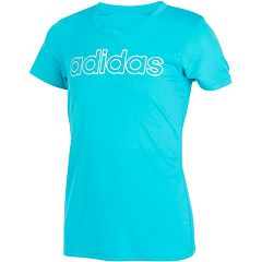Girls 7-16 adidas Outline Graphic Climalite V-Neck Tee