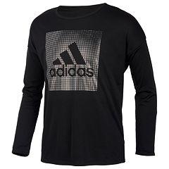 Girls 7-16 adidas Climalite Long Sleeve Graphic Tee