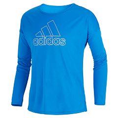 Girls 7-16 adidas Climalite Long Sleeve Graphic Tee