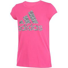 Girls 7-16 adidas Logo Graphic Vented Tee