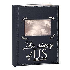 New View 'The Story of Us' Faux-Leather Photo Album