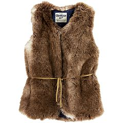 Girls 4-14 OshKosh B'gosh® Faux-Fur Vest