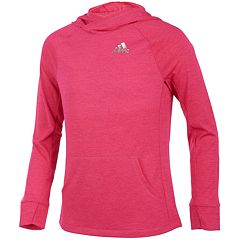 Girls 7-16 adidas Climalite Melange Hoodie Sweatshirt