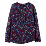 Girls 4-14 OshKosh B'gosh® Floral Henley Top