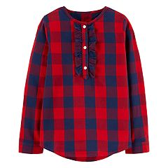 Girls 4-12 OshKosh B'gosh® Buffalo Plaid Henley