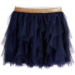 Girls 4-12 Carter's Waterfall Tulle Skirt