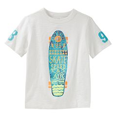 Boys 4-12 OshKosh B'gosh® 'Skate Speed & Air' Skateboard Slubbed Graphic Tee