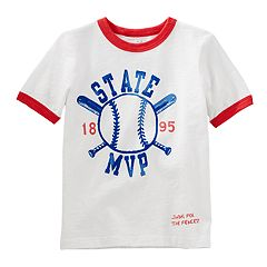 Boys 4-12 OshKosh B'gosh® Baseball 'State M.V.P.' Ringer Graphic Tee