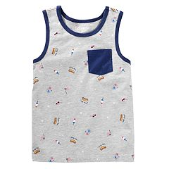 Boys 4-12 OshKosh B'gosh® Graphic Pocket Tank
