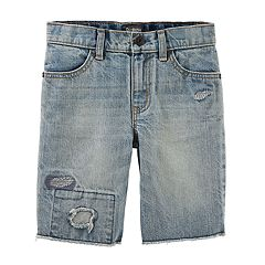 Boys 4-12 OshKosh B'gosh® Repair Denim Shorts