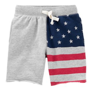 Boys 4-12 OshKosh B'gosh® American Flag Patriotic Knit Shorts