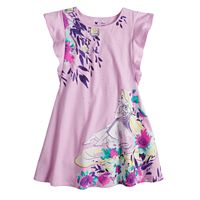 Disney's Tangled Rapunzel Toddler Girl Floral Flutter Dress by Jumping Beans®