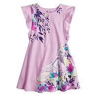 Disney's Tangled Rapunzel Girls 4-7 Floral Flutter Dress by Jumping Beans®