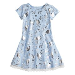 Disney's Cinderella Toddler Girl Foil Printed Dress by Jumping Beans®