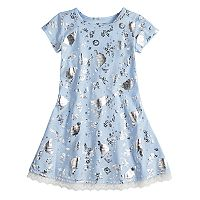 Disney's Cinderella Girls 4-7 Foil Printed Dress by Jumping Beans®