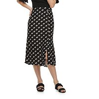 k/lab Polka-Dot Midi Skirt