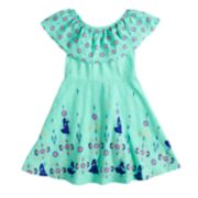 Disney's Elena of Avalor Girls 4-7 Flounce Top Printed Dress by Jumping Beans®