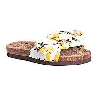 MUK LUKS Faun Women's Slide Sandals