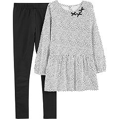 Girls 4-8 Carter's Heart Tunic & Leggings Set