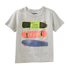 Boys 4-8 OshKosh B'gosh® Skate Boards 'Eat, Skate, Repeat' Graphic Tee