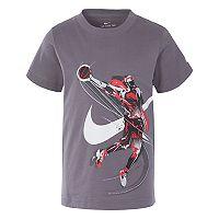Boys 4-7 Nike Brush Basketball Player Graphic Tee