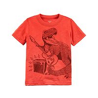 Boys 4-8 Carter's T-Rex Dinosaur & Guitar Graphic Tee