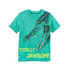 Boys 4-8 Carter's Alligator 'Totally Jawsome' Graphic Tee