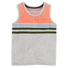 Boys 4-8 Carter's Striped Tank Top
