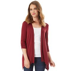 Women's Apt. 9® Lace Back Cardigan