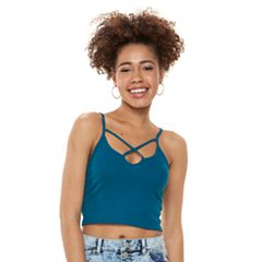 Juniors' Mudd® Cross Front Cami Tank