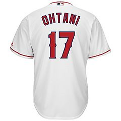 Men's Majestic Los Angeles Angels of Anaheim Shohei Ohtani Replica Jersey