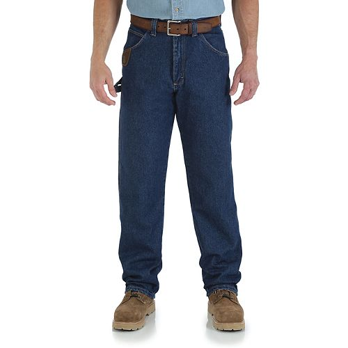 d34d41f1 Men's Wrangler RIGGS Workwear Relaxed-Fit Work Horse Jeans