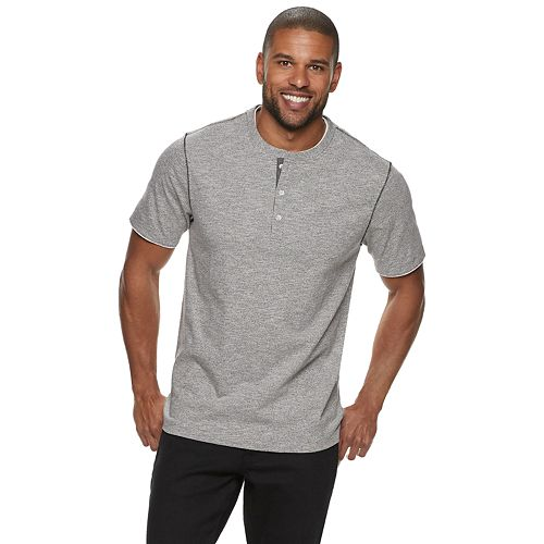 Men's Method Regular-Fit Mock-Layer Henley