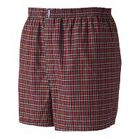 Big & Tall Jockey 2 pkClassic Full Cut Woven Boxers