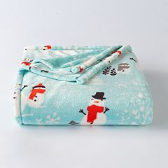 The Big One® Snowman Supersoft Plush Throw