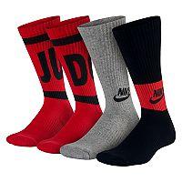 Boys 4-20 Nike Performance Training 3-Pack Crew Socks