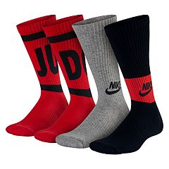 Boys 4-20 Nike Performance Training 3-Pack Crew Socks