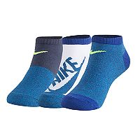 Boys 8-20 Nike Lightweight 3-Pack No-Show Training Socks