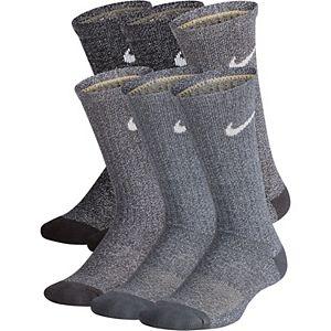Boys 4-20 Nike 6-Pack Training Crew Socks