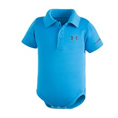 Baby Boy Under Armour Polo Bodysuit
