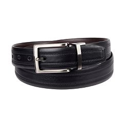 Men's Croft & Barrow® Leather Reversible Dress Belt