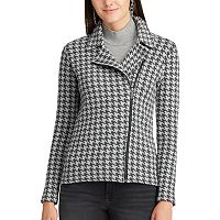 Women's Chaps Asymmetrical Moto Jacket