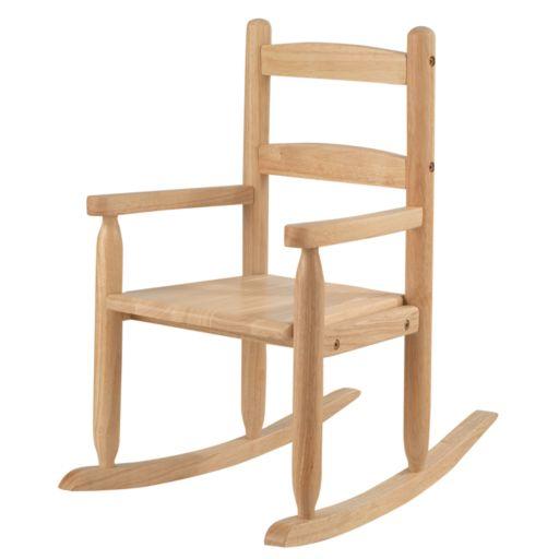 KidKraft Two-Slat Rocking Chair - Natural