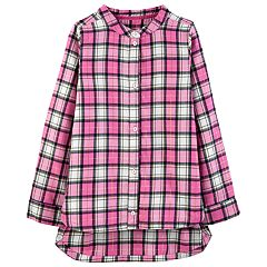 Girls 4-12 Carter's Plaid Lurex Tunic