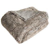 Safavieh Luxe Peacock Faux Fur Throw