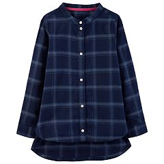 Girls 4-12 Carter's Lurex Plaid Tunic