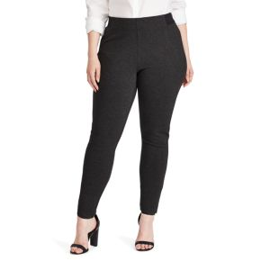 Plus Size Chaps Stretch Ponte Skinny Pants